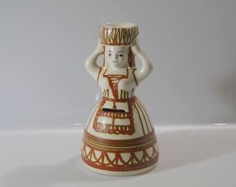 Fun Moneybox and candleholder Kellinghusen, Fat Lava - West German Pottery WGP HK von Trenck