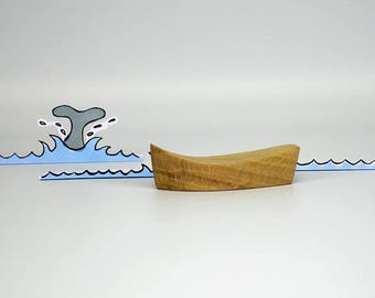 Wooden boats, for the advent calendar, Toys for the bathtub, play boat for children, wooden decoration, wooden toys