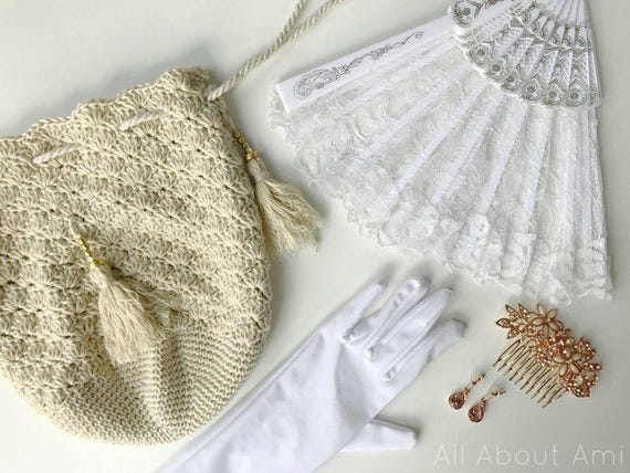 Regency Reticule Crochet Pattern from AllAboutAmi on Etsy ...