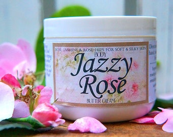 Jazzy Rose Organic Butter Cream for Body