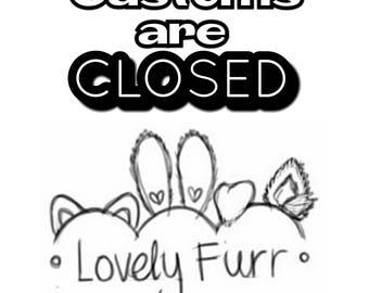 Customs are closed