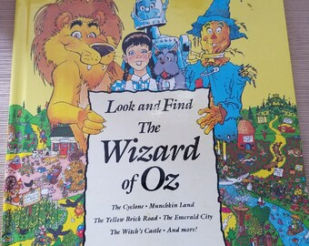 """Wizard of Oz Look and Find (Like Where's Waldo"""")"""
