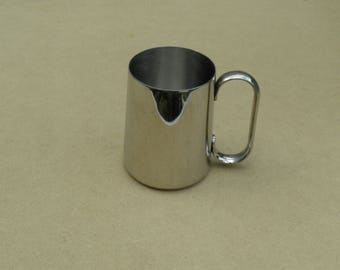 Mug/Tankard - Stainless Steel - Old Hall - Vintage Stainless Steel