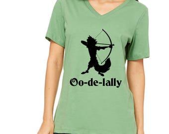 Disney Shirts Womens Robin Hood Shirt Oo de tally Shirt Disneyland Shirt Disney World Shirt Disney Cruise