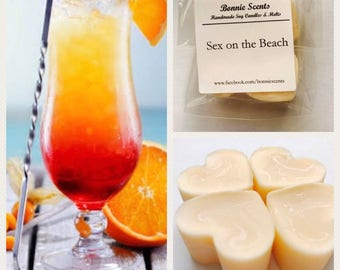 Sex on the Beach Soy Wax Melts.