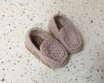 Baby loafers shoes crochet baby shoes baby shower gift