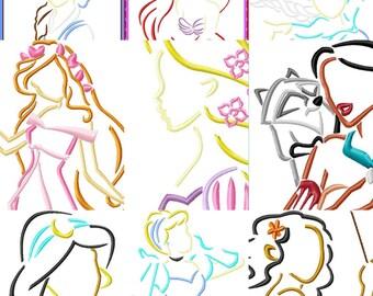 Princess 1/4 Zip Monogrammed COMFORT COLORS