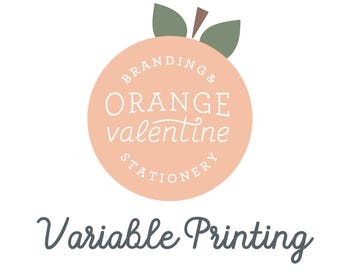 Variable Printing Add on