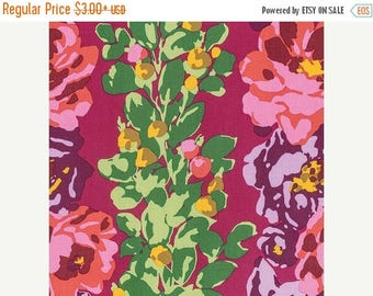 Sale Rose Vine in Wine from the Eternal Sunshine Collection by Amy Butler - Cotton Quilting Fabric