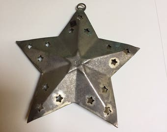 Metal Star Ornament Made in India