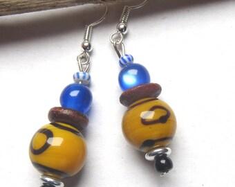"Earrings ""tribal"""