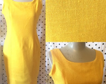 Vintage 1980's tailored work dress size 14