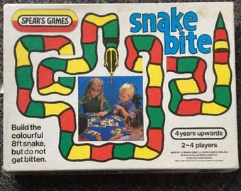 Vintage Snakebite Game By Spear's from 1984