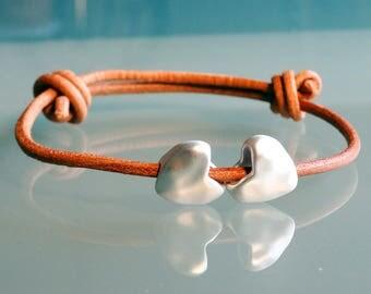 Couples bracelet couple gift gay couple jewelry lgbt jewelry girlfriend bracelet boyfriend simple leather bracelet everyday S M L XL