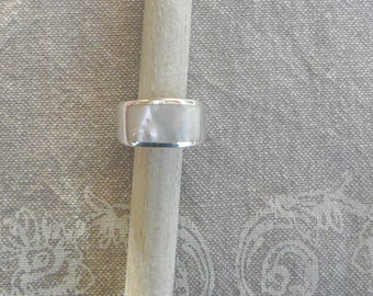 "Silver ring ""Pearl"""