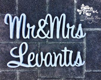 Wedding Signs - Beady Boo Bridal & Events