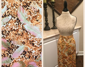 RESERVED - DC Skirt Party Pre-Sale!  Tan, Brown, Pink Animal