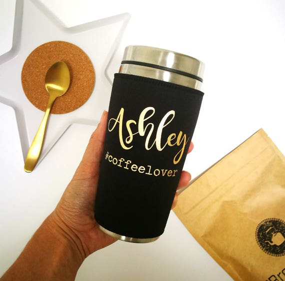 Personalized coffee tumbler