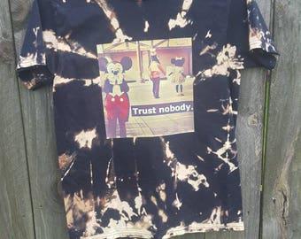 Bleached trust nobody tee