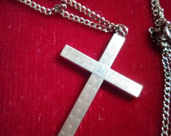 Gold-filled Cross Necklace
