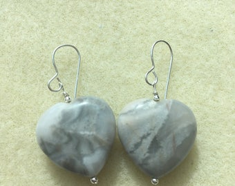 Grey Agate Sterling Silver