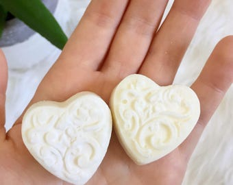 Large Heart Wax Melts - 100% Natural Soy Wax & Young Living Essential Oils