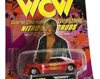 1:64 Scale WCW World Championship Wrestling Rowdy Roddy Piper Nitro-Streetrod