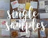 A Single Sample Wedding Invitation - Wedding Stationery - Wedding - Wedding Stationery
