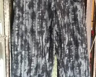 Rare Freak Anser all over decoration design velvet/waist 30/made in japan