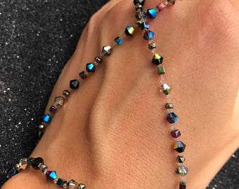 Cosmo Multiway Bracelet, necklace, headband and ankle bracelet. Designed to shine like the stars on a clear night.