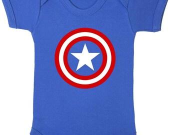 Captain America Baby vest