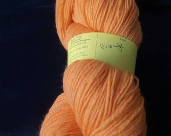 100 g skein hand-dyed sock yarn