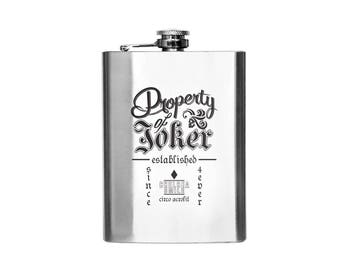 DC Comics - Property of Joker Designer Flask