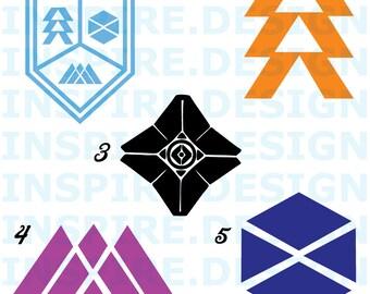 Destiny 2 Logos