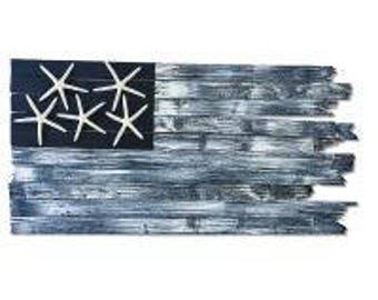 Handcrafted Coastal Flag - Johnnie Walker