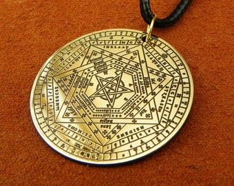 The Seal of the True God, The Sigil of Ameth, Sigillium Dei Emeth neckace