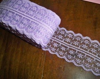 Purple lace Ribbon