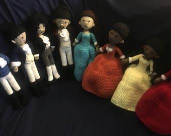 Hamilton the Musical Dolls