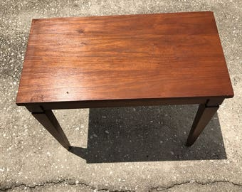 Piano Bench Vintage Wood Antique bench