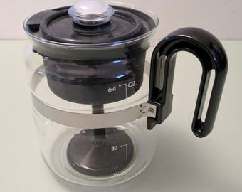 8 Cup Stove Top Glass Percolator