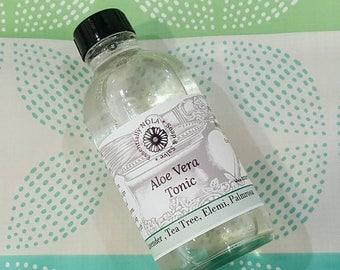 Aloe Vera Shaving Tonic / After Shave / Alcohol Free / 4 fl oz