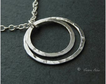 "Silver Locking Day Collar. ""Encircled By You"", Handmade Silver O. Elegant. Discreet. Submissive. Slave."