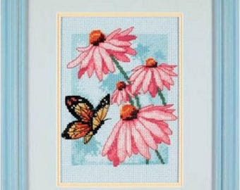 Cross stitch Kit: Butterfly