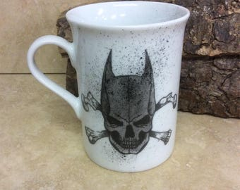 Comic Crossbones Batman cup