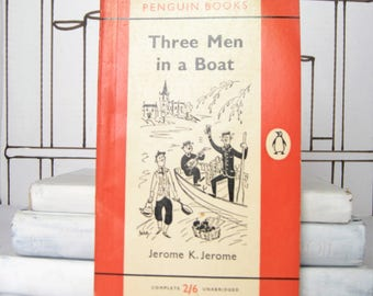 Three Men in a Boat by Jerome K. Jerome (Vintage, Penguin, Humour, Classics)