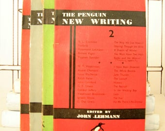 The Penguin New Writing Four Book Set: Volume 2, 15, 16, and 17 (Vintage)
