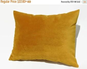 20%off Mustard Pillow, Mustard Velvet Pillow, Mustard Velvet Bed Pillow, Mustard Velvet Pillow Cover, Mustard Velvet Decorative Pillow