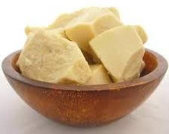 Raw Organic Unrefined Cocoa  Butter