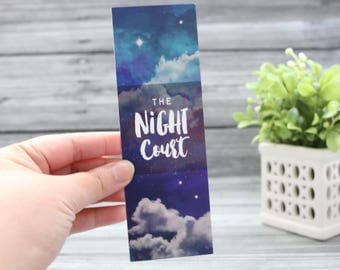 Night Court Bookmark - ACOTAR/ACOMAF/ACOWAR