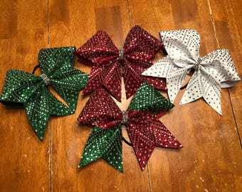 Christmas colored Christmas Bows